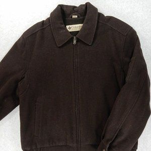 NWOT Columbia Wool Insulated Bomber Casual Jacket